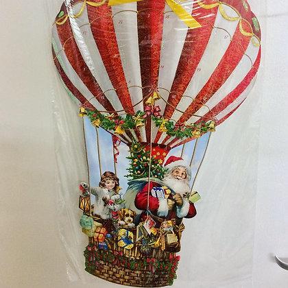 Ballooning Santa advent