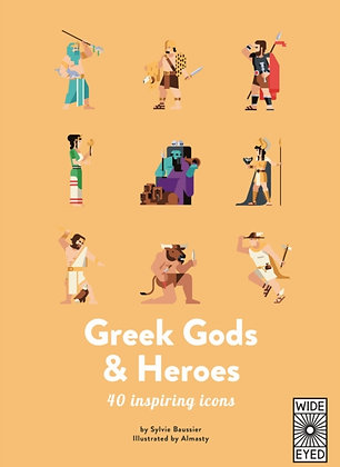 Greek Gods and Heroes : Meet 40 mythical immortals