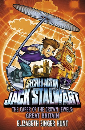 Jack Stalwart: The Caper of the Crown Jewels : Great Britain: Book 4