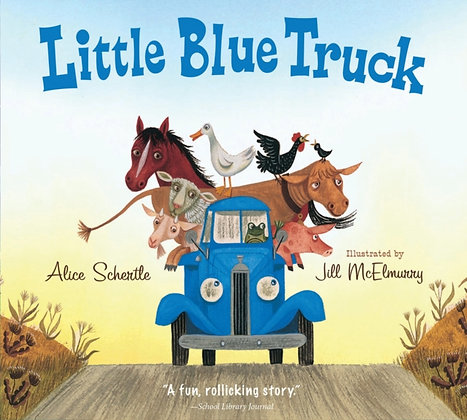 Little Blue Truck large padded board book