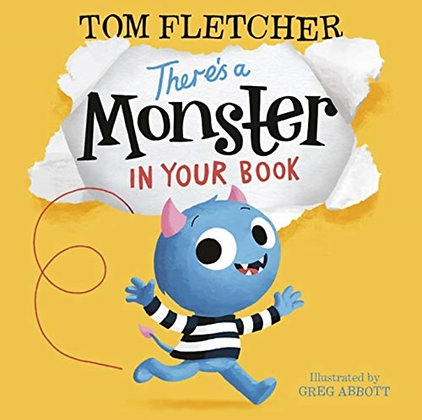 There's a Monster in Your Book board