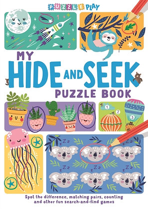 My Hide and Seek Puzzle Book: Spot the Difference�