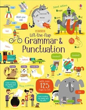 Lift-the-Flap Grammar and Punctuation
