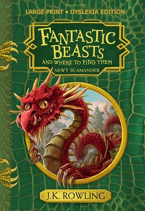 Fantastic Beasts and Where to Find Them : Hogwarts Library Book