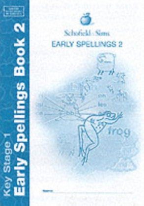 Early Spelling Book 2