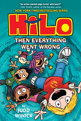Hilo Book 5 : Then Everything Went Wrong