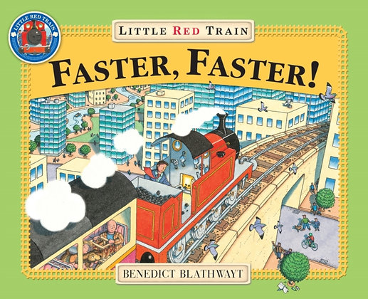 Little Red Train : Faster, Faster