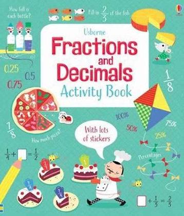 Fractions and Decimals Activity Book