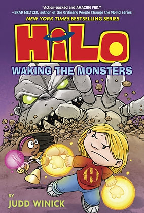 Hilo Book 4 : Waking the Monsters