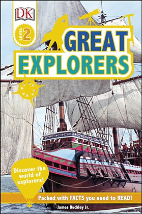 Great Explorers : Discover the World of Explorers!