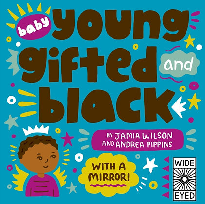 Baby Young, Gifted, and Black : with a mirror!