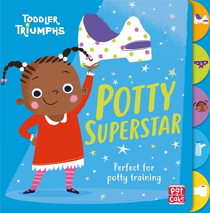 Toddler Triumphs: Potty Superstar : A potty training book for girls
