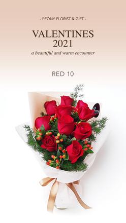 Valentine 2021 - RED 10