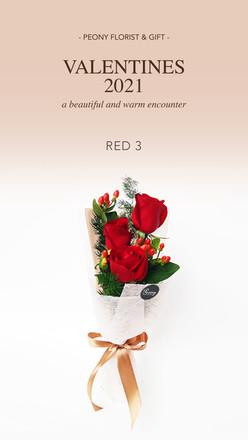 Valentine 2021 - RED 3
