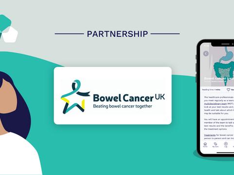 Vinehealth announces partnership with Bowel Cancer UK