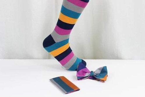 Stripe Bow Tie 1