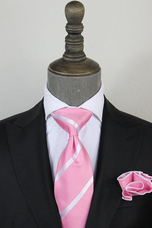 Pink Power Stripe Tie 4