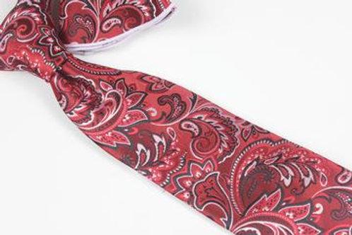 Dawa Paisley 8 - 7 Fold Tie & Pocket Round