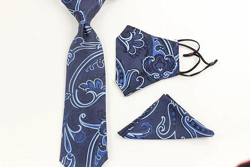 Haggai Tie & Mask Combo 5
