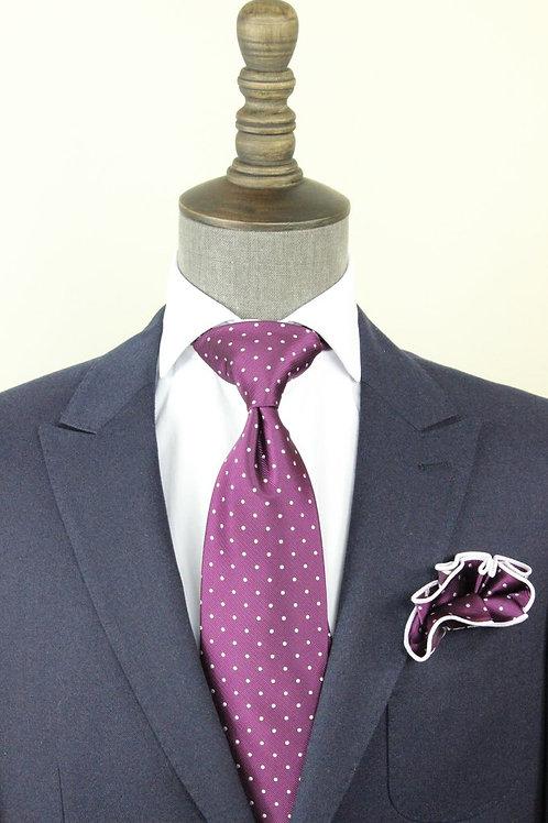 Violet Pindot Tie