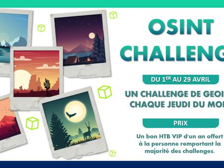 OSINT Challenges d'avril