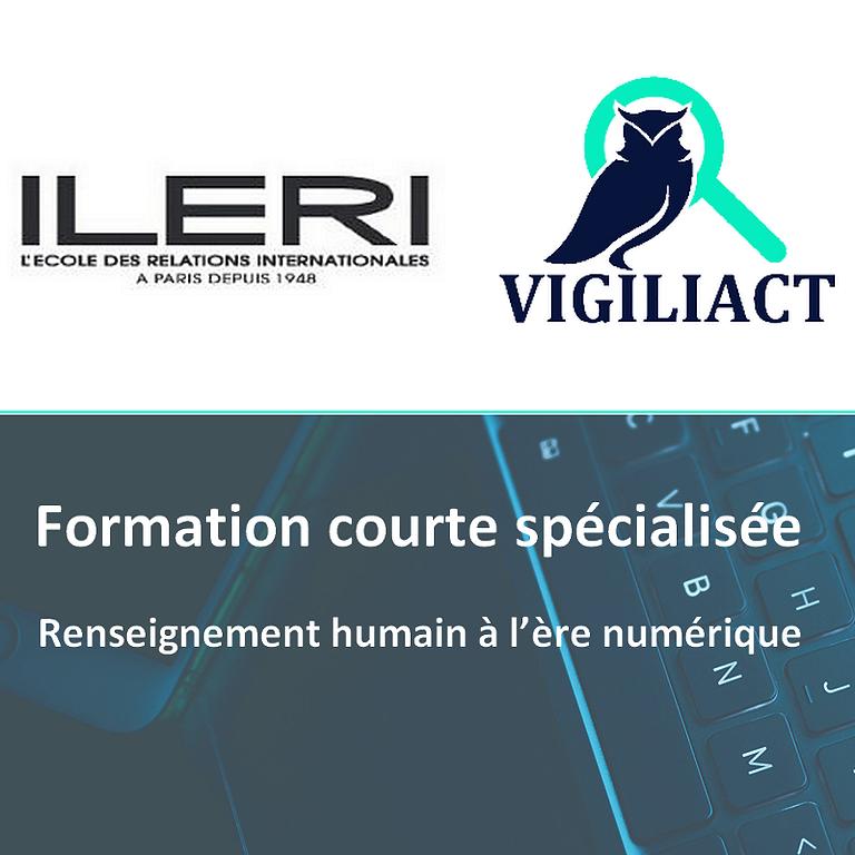 [FORMATION] VigiliAct intervient à l'ILERI sur l'appui et le prolongement Cyber