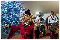 spectacle féerique, animation de noël, spectacle de Noël