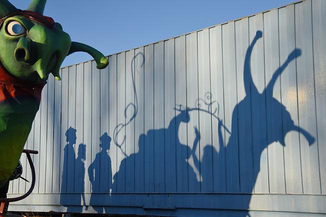 spectacle, ombre, escargot, soukha