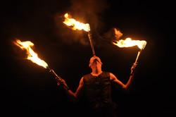 Spectacle de feu (Cie Soukha)