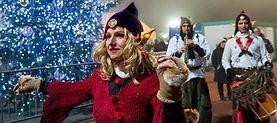Noël, animation pour noël, spectacle de rue pour Noël