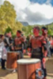 Groupe, pecussions, batucada, musiciens