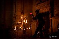 Spectacle de Noël, animation e feu, spectacle fin d'année