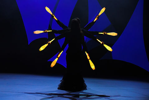 spectacle lumineux, soirée spectacle, led, futuriste