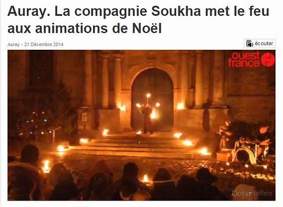 Article de presse, Soukha