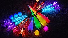 spectacle de rue, lumières