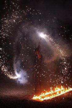 Soukha, spectacle de feu