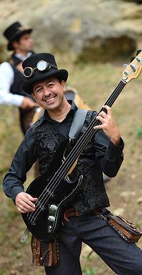 musicien, steampunk, fanfare de rue