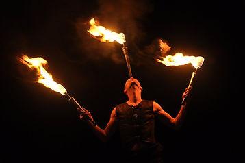 Spectacle de feu, fire, show