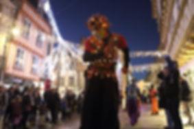 animation, spectacle, déambulation, parade nocturne
