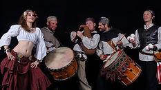 animation médiévale, spectacle médiéva, troubadours, saltimbanques, renaissance