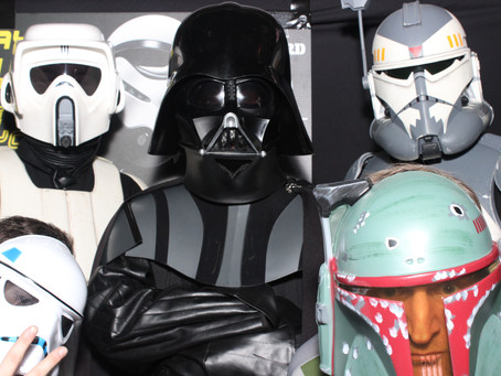 Star Wars Photo booth themed event.