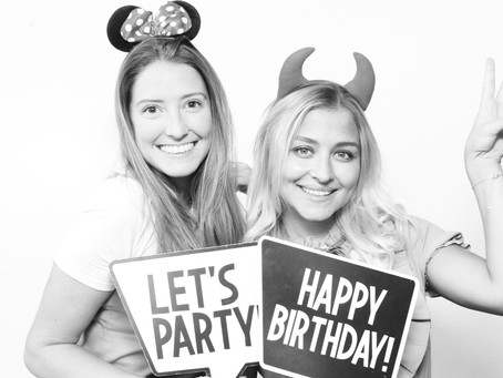 Black & White image available with our photo booths