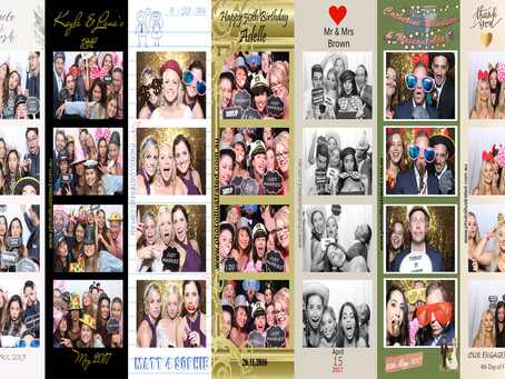 Photo booth hire with the 4 photo strip ?