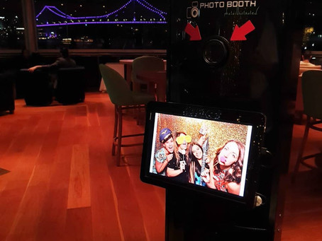 The view in a Photoillustrated Photo Booth