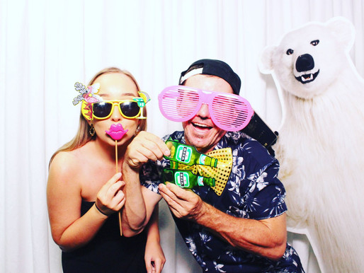 Photo Bombed in the photo booth