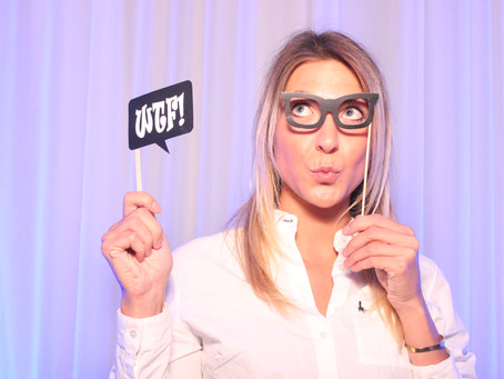 Even our staff use the Photo booth.