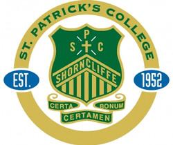 St_Patrick's_College,_Shorncliffe_crest.