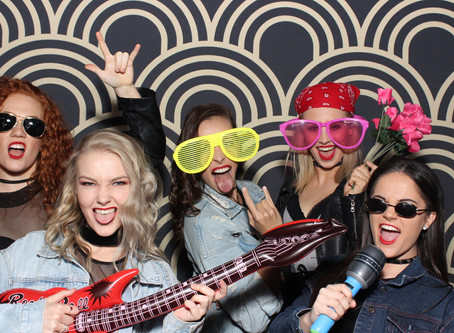 Party with the best photo booth hire business.