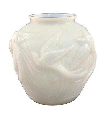 Verlys - Birds of Paradise Vase