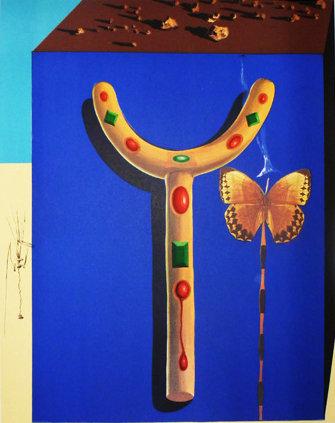 Salvador Dali - Surrealist Crutches, Memories of Surrealism